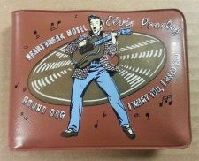 Buy 1956 ELVIS PRESLEY BROWN VINYL VINTAGE WALLET