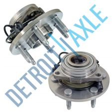 Buy Pair: 2 New FRONT Driver and Passenger Wheel Hub Bearing - w/ ABS - AWD 4x4
