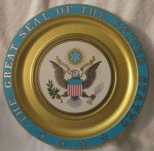 Buy The Great Seal of the USA wall tin-Collectable