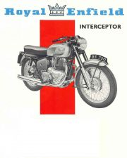 Buy ROYAL ENFIELD INTERCEPTOR MOTORCYCLE OVERHAUL MANUALs for 736 Repair & Service