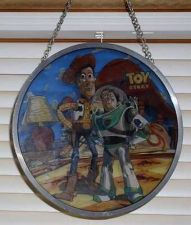 Buy Disney - Toy Story - Buzz Lightyear - Woody - Stained Glass - Sun Catcher - Art