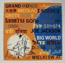Buy JOE JACKSON Big World 1986 New Wave / Punk Rock LP