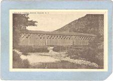 Buy New York Roscoe Covered Bridge Postcard Covered Bridge World Guide Number ~493
