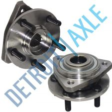 Buy Pair of 2 - NEW Front Driver and Passenger Wheel Hub and Bearing Assembly