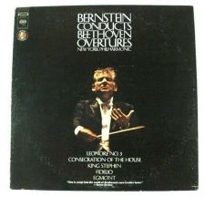 Buy BERNSTEIN CONDUCTS BEETHOVEN OVERTURES Fidelio / Egmont / Leonore + LP