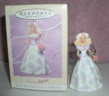 Buy Hallmark Wedding in Springtime Barbie 1st in series dated 1995 ornament