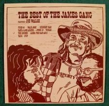 Buy THE BEST of THE JAMES GANG ~ Featuring Joe Walsh 1973 Rock LP