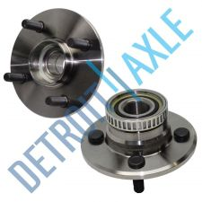 Buy Pair of 2 - NEW Rear 1995 - 1997 Neon Wheel Hub and Bearing Assembly w/ ABS