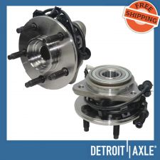 Buy Pair of 2 NEW Front Driver and Passenger Wheel Hub Bearing Assembly w/ ABS 4WD