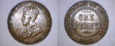 Buy 1933 (m) Australian 1 Penny World Coin - Australia