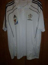 Buy ADIDAS CLIMALITE Men's Polo-Style Soccer Shirt 2010 World Cup sz XL