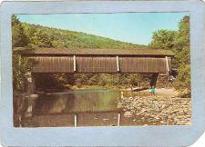 Buy New York Beaverkill Covered Bridge Postcard Catskill Mt Bridge Over Beaver~487