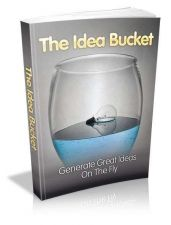 Buy The Idea Bucket Ebook + 10 Free eBooks With Resell rights ( PDF )