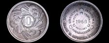 Buy 1968 Burundi 10 Franc World Coin