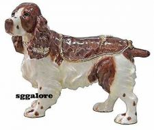 Buy RUCINNI Swarovski Crystals BeJeweled COCKER SPANIEL DOG Trinket Jewelry BOX DOGS
