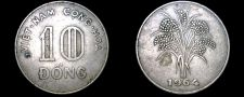 Buy 1964 South Vietnamese 10 Dong World Coin - Vietnam
