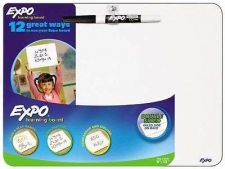 Buy Dry Erase Learning Board w/ Marker Whiteboard Marker Office Presentation Draft N
