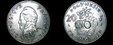 Buy 1977 French Polynesia 20 Franc World Coin