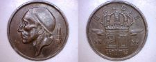 Buy 1954 Belgium 20 Centimes World Coin