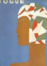Buy Vogue 1929 Cover Print Swimwear Swimhat Swim Hat Art Deco 1984 original print