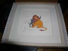 Buy Disney Lion King Mufasa Rafiki Monkey LE Framed Art