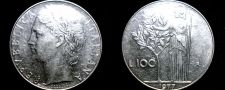 Buy 1977 Italian 100 Lire World Coin - Italy