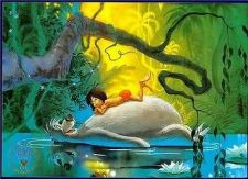 Buy Jungle Book Commemorative Gold Seal Disney Lithograph