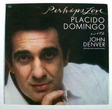 "Buy PLACIDO DOMINGO With John Denver ~ "" Perhaps Love "" 1981 Pop LP"