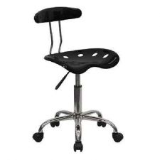 Buy Seat Flash Furniture Black Computer Drafting Cad Lab Task Chair Office Bar Stool