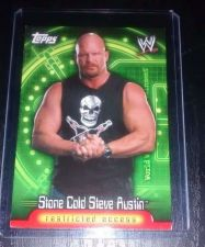 Buy 2006 Topps restricted access #33 Stone Cold Steve Austin Grad 10 WWF WWE WCW TNA