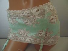 Buy Victoria's Secret Very Sexy Sheer Laced Garter Belt NWT $48