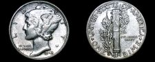Buy 1943-D Mercury Dime Silver