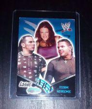 Buy 2002 Fleer Hardy Boys Lita AKA Team Xtreme Wrestling Card WWE WWF Rare