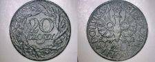 Buy 1923 Polish 20 Groszy World Coin - Poland