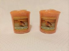 Buy Yankee Votive Candle, Set Of 2, Golden Sands Scent! Authentic Brand Name