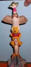 Buy Winnie the Pooh Eeyor Tigger Pigle totem pole Disney