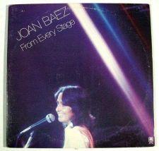 """Buy JOAN BAEZ ~ """" Joan Baez / From Every Stage """" 1976 DOUBLE Folk/Pop LP"""