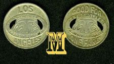 Buy Rare SUBWAY METRO LOS ANGELES. Transit Token.***