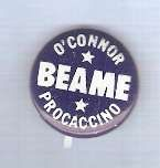 Buy New York New York City Mayor Candidate: Beame O'Connor Procaccino Politica~1