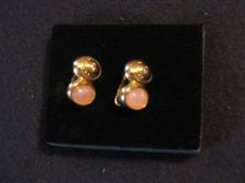 Buy Sarah Coventry Jewelry...Scarab Button Clip-on Earrings (Scarab) #1002