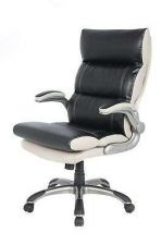 Buy Comfort Chair Boss Manager Office High-Back Leather Padded Computer Desk Luxury