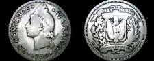 Buy 1939 Dominican 25 Centavo World Silver Coin - Dominican Republic
