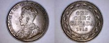 Buy 1913 Canada 1 Large Cent World Coin - Canada