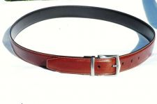 Buy BROWN LEATHER DRESS BELT