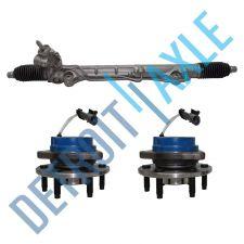 Buy Power Steering Rack And Pinion -SRX 2004-2009+ 2 Wheel Hub Bearing RWD ABS