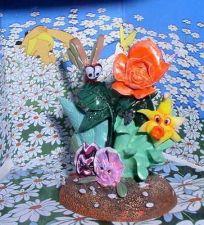 Buy Disney Alice In Wonderland butterfly & Flowers Figure