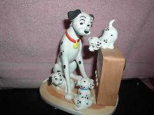 Buy Disney 101 Dalmatians Porcelain Figurine made in Japan Walt Disney Procuctions