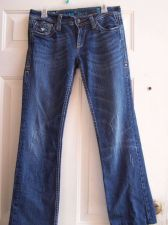 Buy Sang Real by Miss Me Jeans Size 30 Thick Stitch Pockets Boot Cut Low Rise