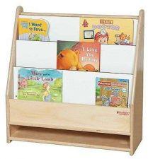 Buy Wooden Kids Book Storage Magazine Rack Home Office Shelves Bookshelf Shelving