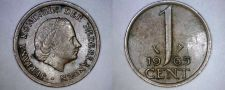 Buy 1965 Netherlands 1 Cent World Coin